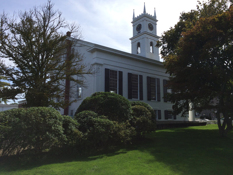 Whaling church in Edgartown.